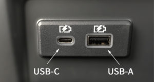 USB-C and USB-A